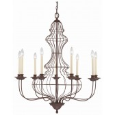Quoizel QZ/LAILA9 Laila 9 - Light Chandelier