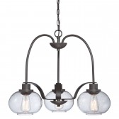 Quoizel QZ/TRILOGY3 Trilogy 3-Light Chandelier