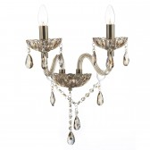 Raphael Double Wall Light Champagne Crystal