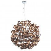 Dar Rawley 12-Light Pendant Copper