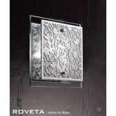 Diyas Roveta Ceiling/Wall 1 Light Polished Chrome