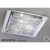 Diyas Roveta Ceiling/Wall 3 Light Polished Chrome