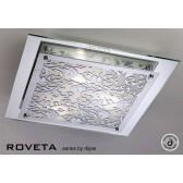 Diyas Roveta Ceiling/Wall 3 Light Polished Chrome