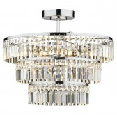 Rowena Ceiling Light - 3 Tier Semi Flush