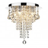 Ruby 4 light decoration flush ceiling light