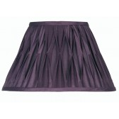 Oaks Lighting S601/16 PL Plum Sutlej Silk Shade