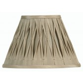 Oaks Lighting S601/12 SA Sand Sutlej Silk Shade
