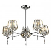 Selina Ceiling Light - 5 Light Semi Flush