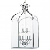 Senator Pendant Light - 6 Light, Polished Chrome