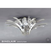 Diyas Sinclair Ceiling 4 Light Polished Chrome