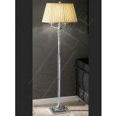Franklite SL202 Standard Lamp 3 Light With Shade