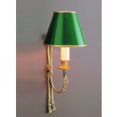 Impex Richmond Wall Light Polished Brass - 1 Light
