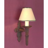 Impex Baronial Wall Light Aged - 1 Light