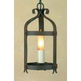 Impex Villa Lantern Aged - 1 Light, Brown