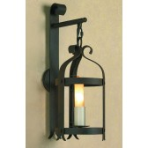 Impex Villa Wall Lantern Aged - 1 Light