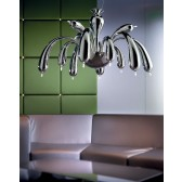 Redentor Ceiling Light - 12 Light, Polished Chrome