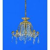 Impex Bell Pendant Light Gold - 1 Light