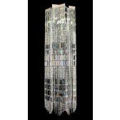 Impex Crystal Art Light - 4 Light, Polished Chrome
