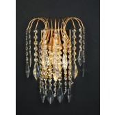 Impex Shower Wall Light Gold Plated - 1 Light