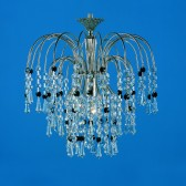 Impex Shower Chandelier - 1 Light
