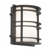 Norlys ST/FLU E27 BLK O Stockholm Flush Light E27 Black Opal