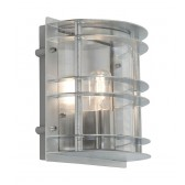 Norlys ST/FLU E27 GAL C Stockholm Flush Light E27 Galvanised Clear