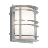 Norlys ST/FLU E27 GAL O Stockholm Flush Light E27 Galvanised Opal