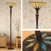 Interiors1900 Dark Star Uplighter Floor Lamp