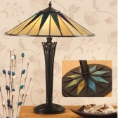 Interiors1900 Dark Star Large Table Lamp