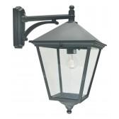 Norlys TG2 BLACK Turin Grande Down Wall Lantern Black