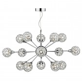 Toga 15 Light Pendant Polished Chrome