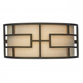Tumola 2 Light Wall Bracket Bronze