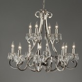 Interiors1900 Oksana 12-Light Chandelier