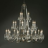 Interiors1900 Oksana 21-Light Chandelier