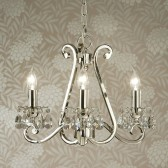 Interiors1900 Oksana 3-Light Chandelier