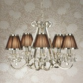 Interiors1900 Oksana 5-Light Chandelier, Brown
