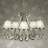 Interiors1900 Oksana 5-Light Chandelier, White