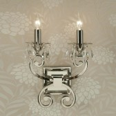 Interiors1900 Oksana Double Wall Light