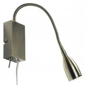 Uno Wall Light (Reading Light) - Antique Brass