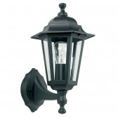 Aluminium Outdoor Up Lantern - Black