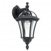 Elegant Outdoor Down Lantern - Black