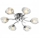 Zagreb ceiling Light - 6 light Flush