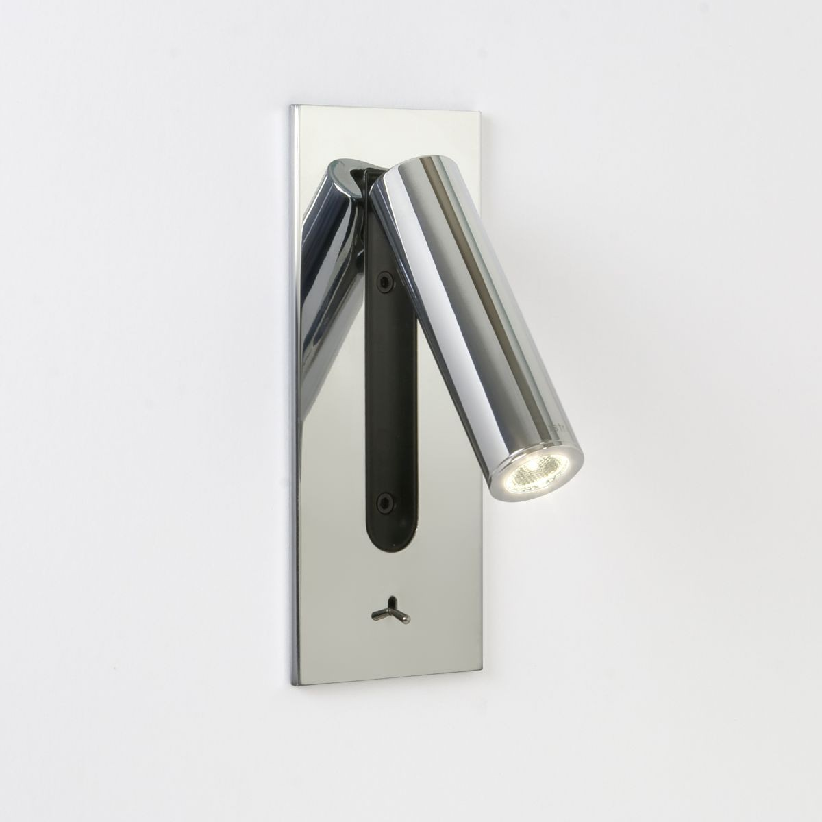 Astro lighting fuse switched wall light 1 light polished chrome aloadofball Image collections