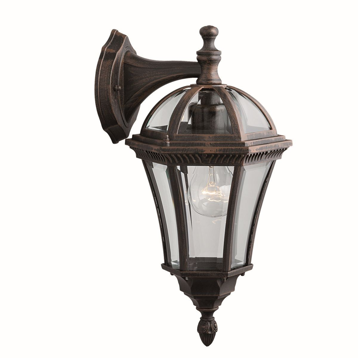 Capri outdoor light wall down lantern - Lamparas de pared exterior ...