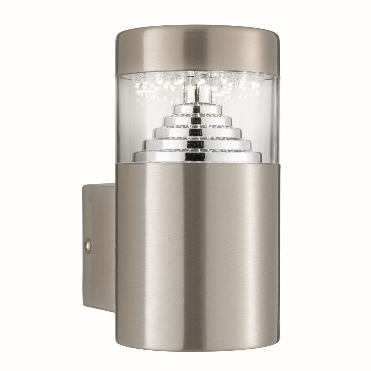 Led outdoor light stainless steel wall