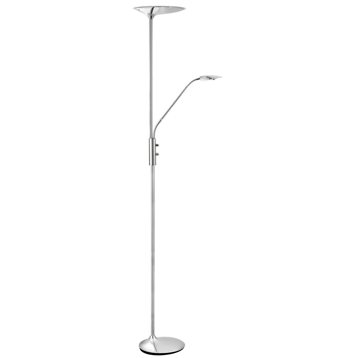 Led Mother And Child Floor Lamp Chrome