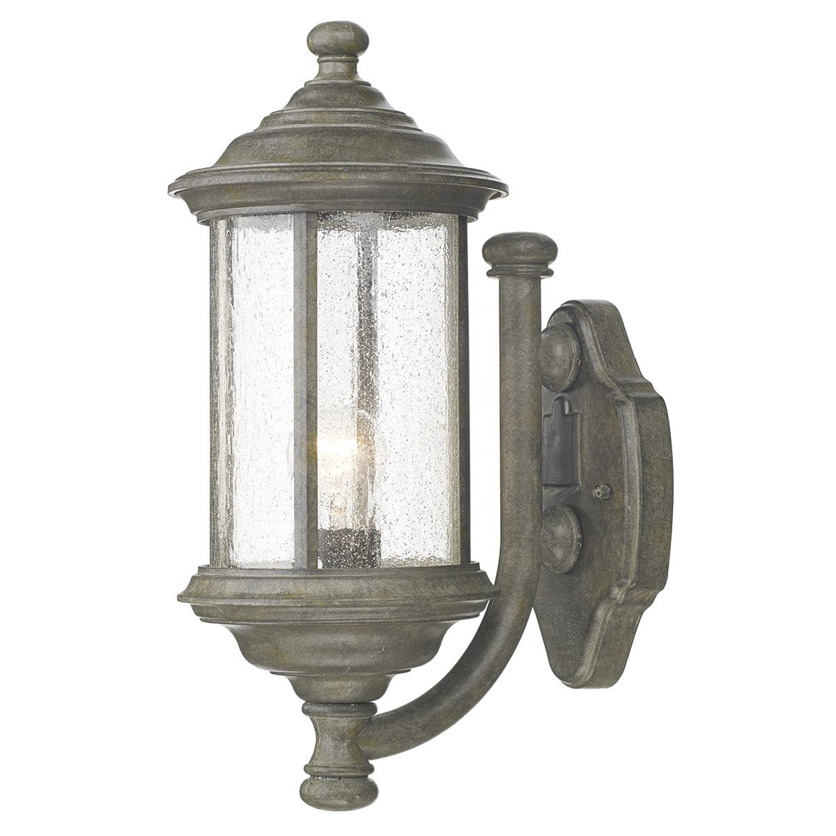 Brompton Outdoor Wall Light Old Iron
