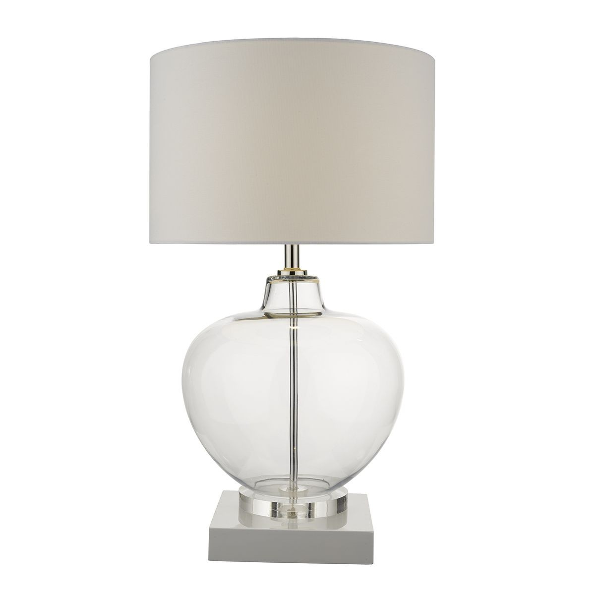 Moffat Base Only Table Lamp Clear Glass