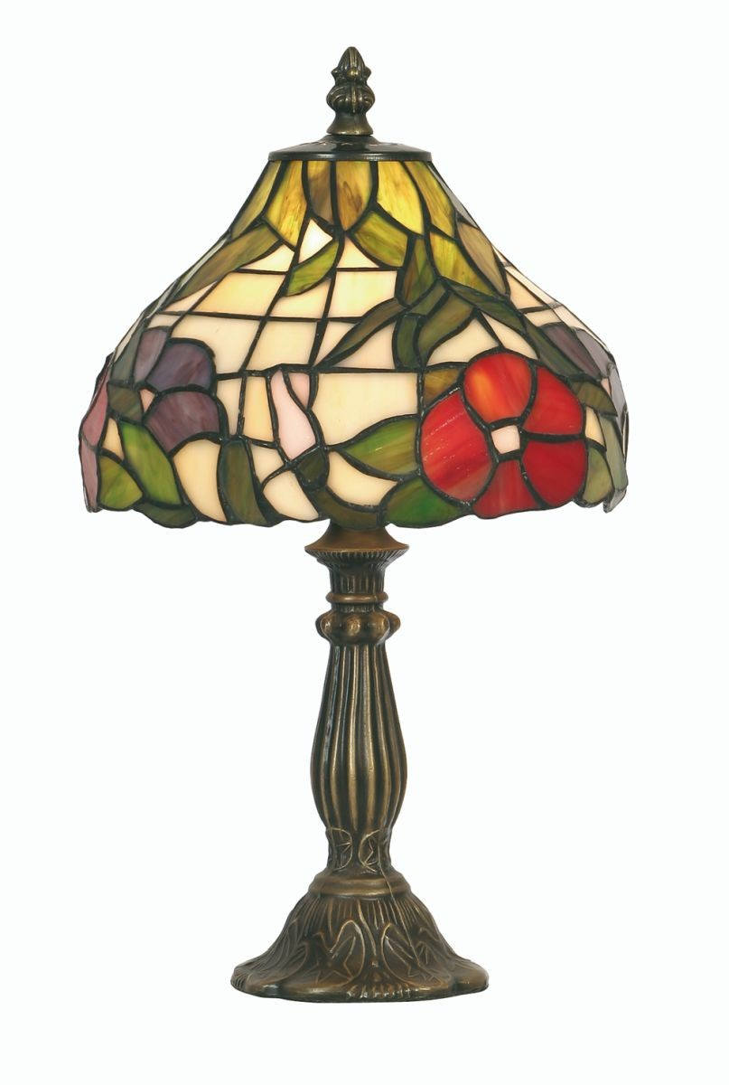 peonies tiffany table lamp small. Black Bedroom Furniture Sets. Home Design Ideas