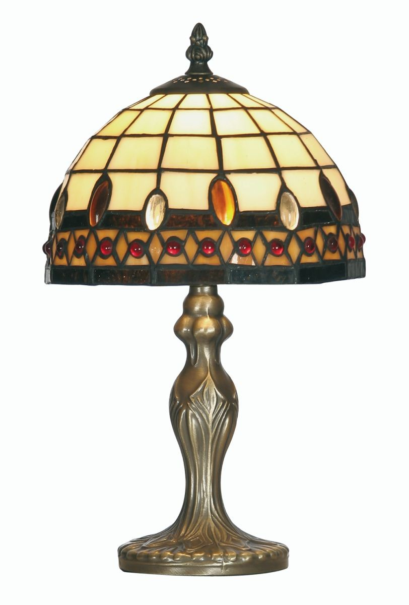 Flute Tiffany Table Lamp Small